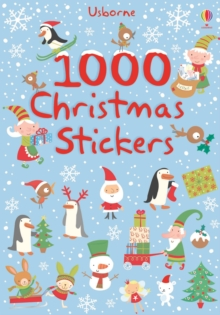 1000 Christmas Stickers, Paperback