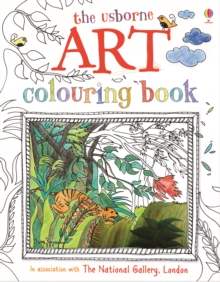 Art Colouring Book, Paperback