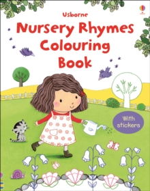 First Colouring Book with Stickers: Nursery Rhymes, Paperback