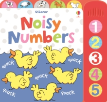 Noisy Numbers, Board book Book