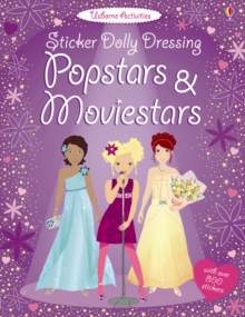 Sticker Dolly Dressing Popstars and Movie Stars, Paperback