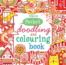 Pocket Doodling and Colouring Book : Red Book, Paperback