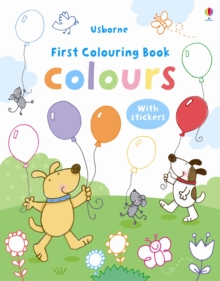 My First Colours Colouring Book, Paperback