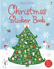 Christmas Sticker Book, Paperback