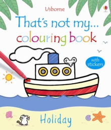 That's Not My Holiday Colouring Book, Paperback Book