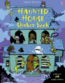 Haunted House Sticker Book, Paperback