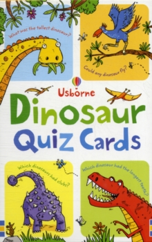 Dinosaur Quiz, Cards Book