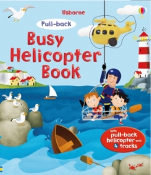 Pull-Back Busy Helicopter Book, Mixed media product Book