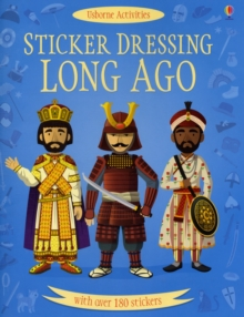 Sticker Dressing Long Ago, Paperback Book