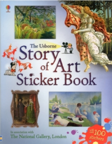 Story of Art Sticker Book, Paperback
