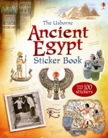 Ancient Egypt Sticker Book, Paperback