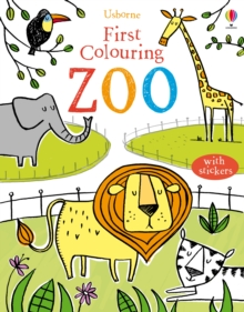 First Colouring Book Zoo, Paperback