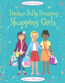 Sticker Dolly Dressing Shopping Girls, Paperback Book