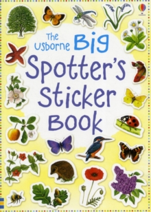 Big Spotter's Sticker Book, Paperback