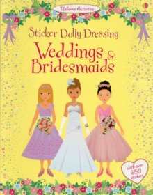 Sticker Dolly Dressing Weddings and Bridesmaids, Paperback