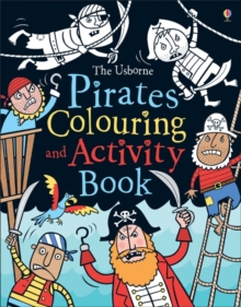 Pirates Colouring and Activity Book, Paperback