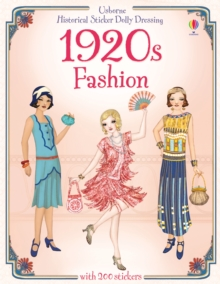 Historical Sticker Dolly Dressing: 1920s Fashion, Paperback