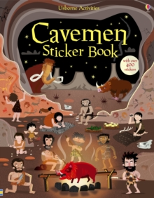 Cavemen Sticker Book, Paperback