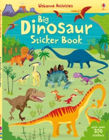 Big Dinosaur Sticker Book, Paperback Book