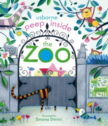 Peep Inside The Zoo, Board book
