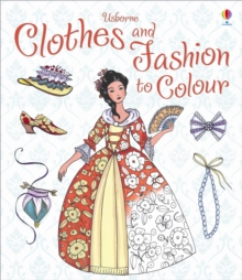Clothes and Fashion to Colour, Paperback Book