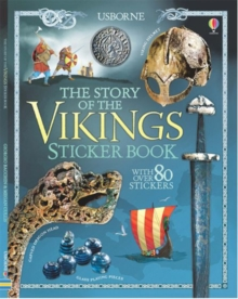 Story of the Vikings Sticker Book, Paperback