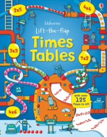 Lift the Flap Times Tables Book, Hardback