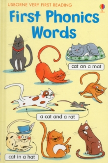 First Phonics Words, Hardback