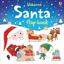 Santa Flap Book, Board book