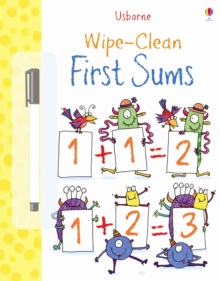 Wipe Clean: First Sums, Paperback