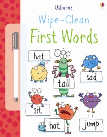 Wipe Clean: First Words, Paperback Book