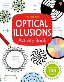Optical Illusions Activity Book, Paperback