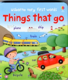 Very First Words Things That Go, Board book