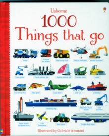 1000 Things That Go, Board book