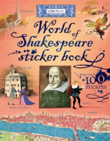 World of Shakespeare Sticker Book, Paperback