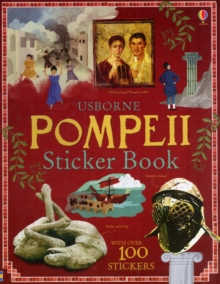Pompeii Sticker Book, Paperback Book
