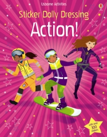 Sticker Dolly Dressing Action, Paperback Book