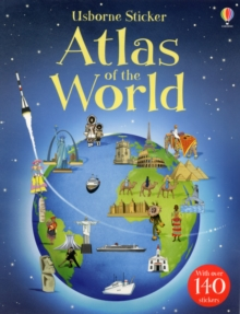 Sticker Atlas of the World, Paperback