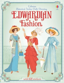 Historical Sticker Dolly Dressing Edwardian Fashion, Paperback