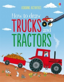 How to Draw Trucks and Tractors, Paperback