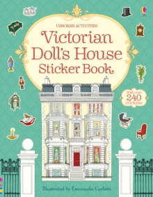 Victorian Doll's House Sticker Book, Paperback