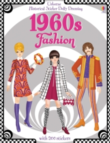 Historical Sticker Dolly Dressing 1960s Fashion, Paperback Book