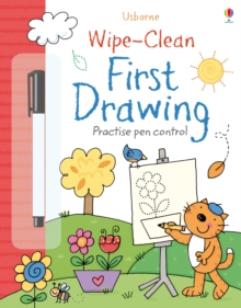 Wipe-Clean First Drawing, Paperback