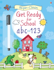 Wipe-clean Get Ready for School ABC and 123, Paperback