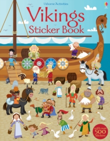 Vikings Sticker Book, Paperback