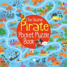 Pirate Pocket Puzzle Book, Paperback
