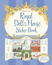 Royal Doll's House Sticker Book, Paperback