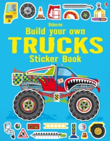 Build Your Own Trucks Sticker Book, Paperback Book
