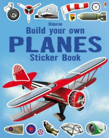 Build Your Own Planes Sticker Book, Paperback Book