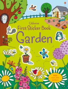 First Sticker Book Garden, Paperback Book